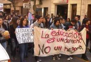 Manifestación en Orihuela