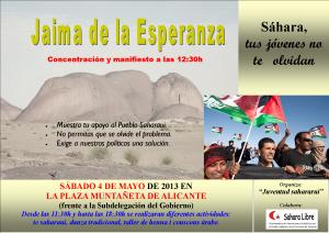 Cartel Jaima Esperanza