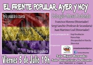 cartel acto FP Alicante baja