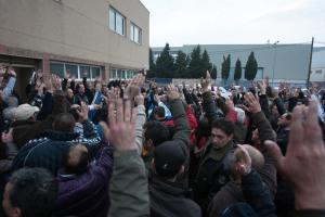 asamblea Inusa por huelga